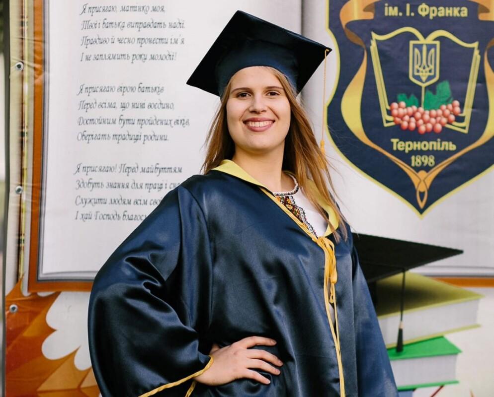 Випускниця з Тернополя здала ЗНО з хімії та математики на 200 балів (ФОТО)