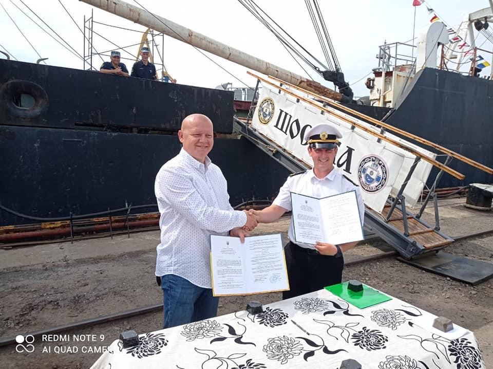 Другий за розмірами військовий корабель України назвуть на честь Збаража (ВІДЕО)