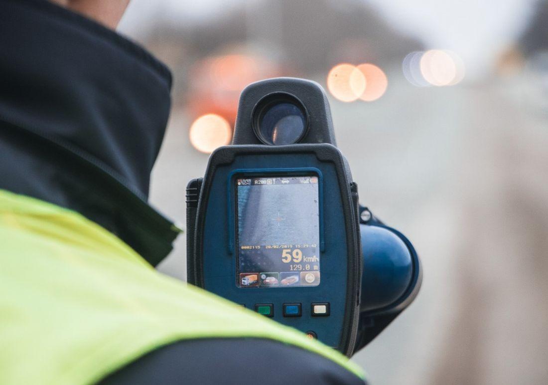 Цього року патрульні Тернопільщини впіймали на перевищенні швидкості 10 тисяч водіїв
