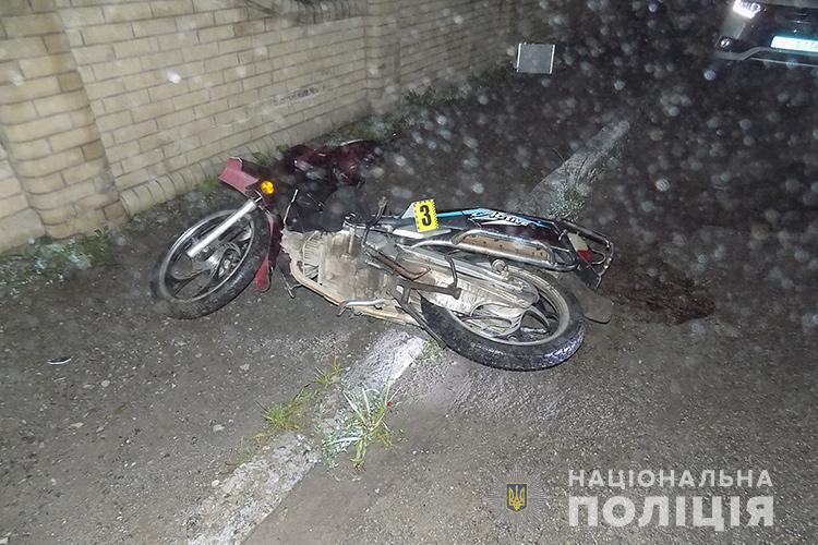 Були без шоломів: на Чортківщині у ДТП загинув 21-річний водій мопеда (ФОТО)