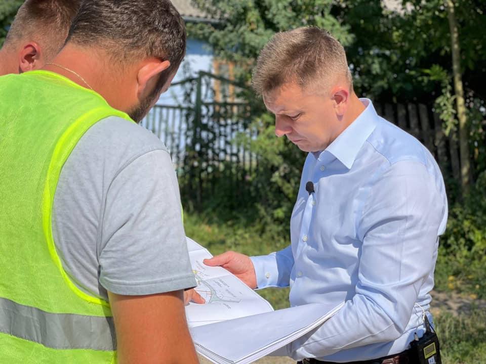 Володимир Болєщук: «Крок за кроком відновимо інфраструктуру в області» (ФОТО, ВІДЕО)