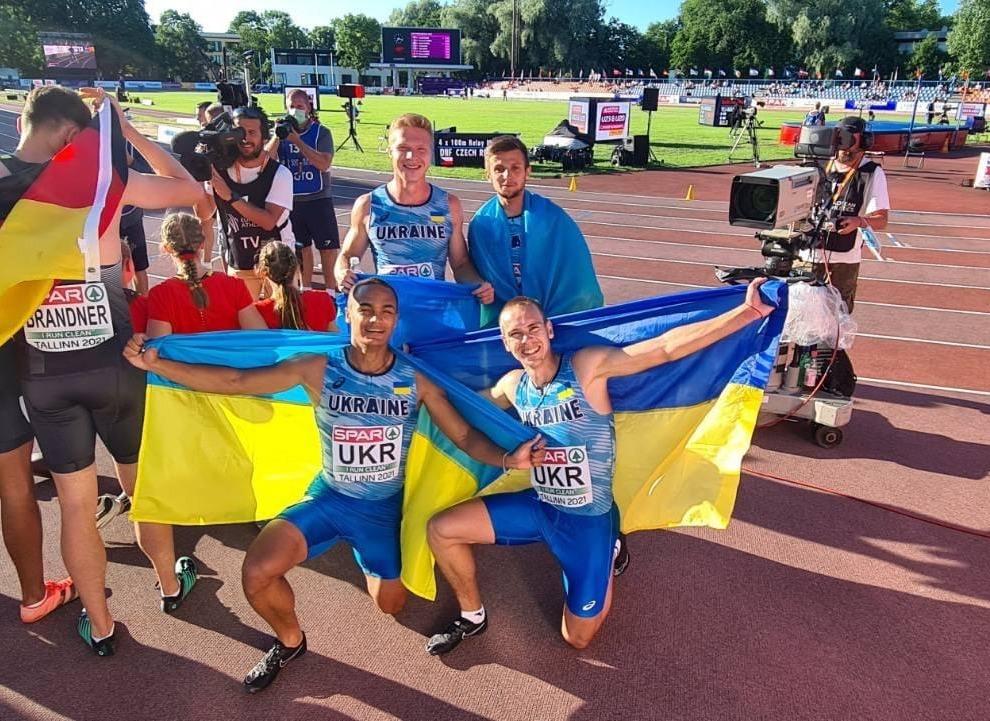 Лановецький спринтер здобув нагороду на чемпіонаті Європи з легкої атлетики