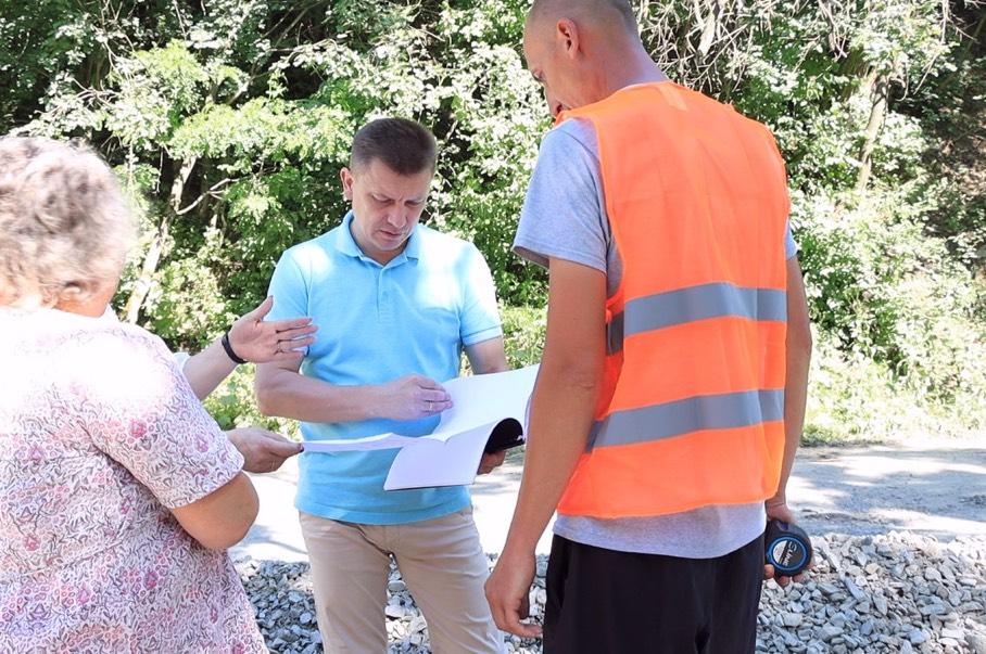Одне з сіл Монастириської громади дочекалося ремонту дороги (ФОТО, ВІДЕО)