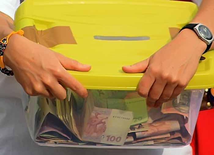 У Тернополі нелюд вкрав скриньку з пожертвами для хворих діток