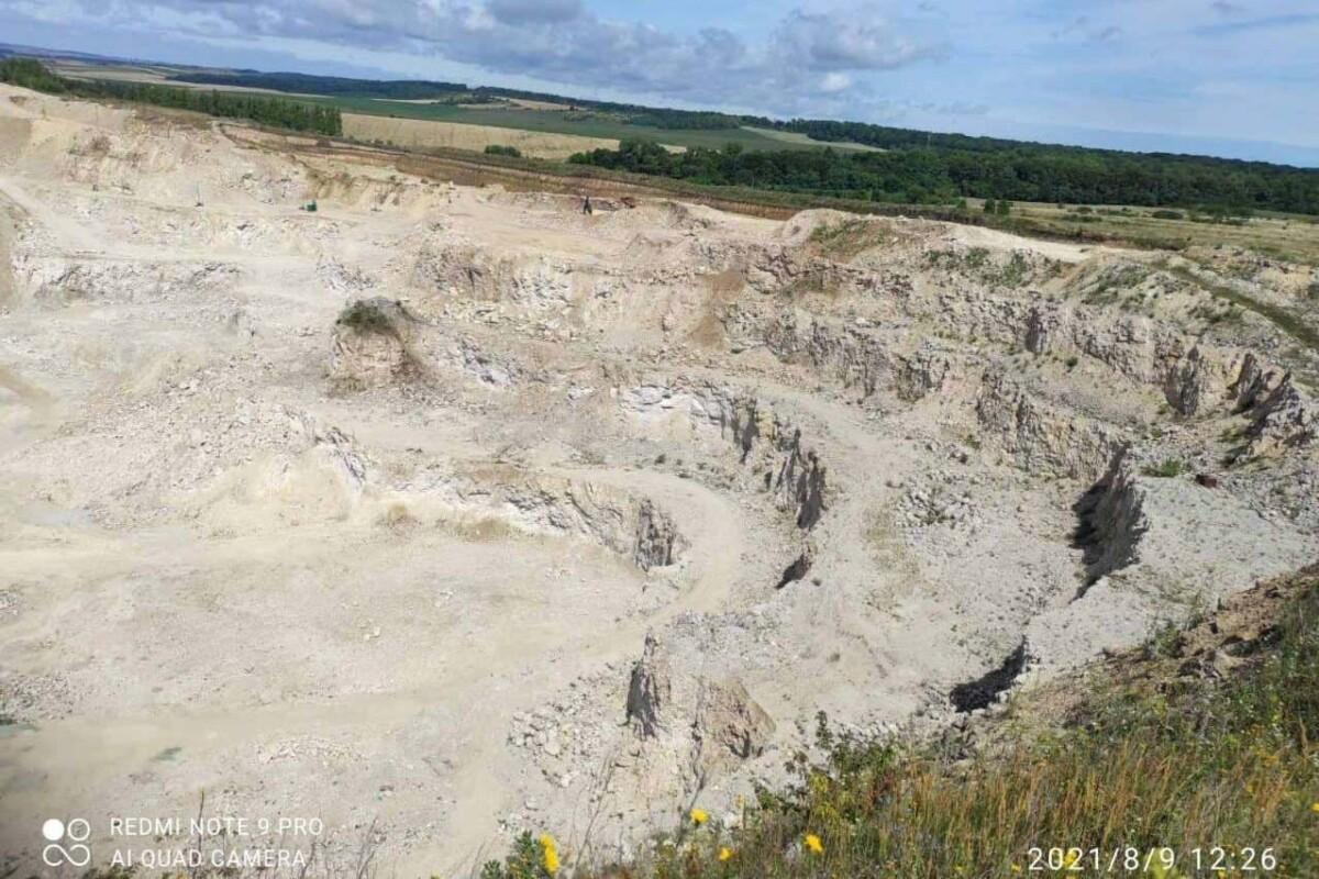 На Тернопільщині знищили пам'ятку, вік якої сягає 5 мільйонів років (ФОТО)