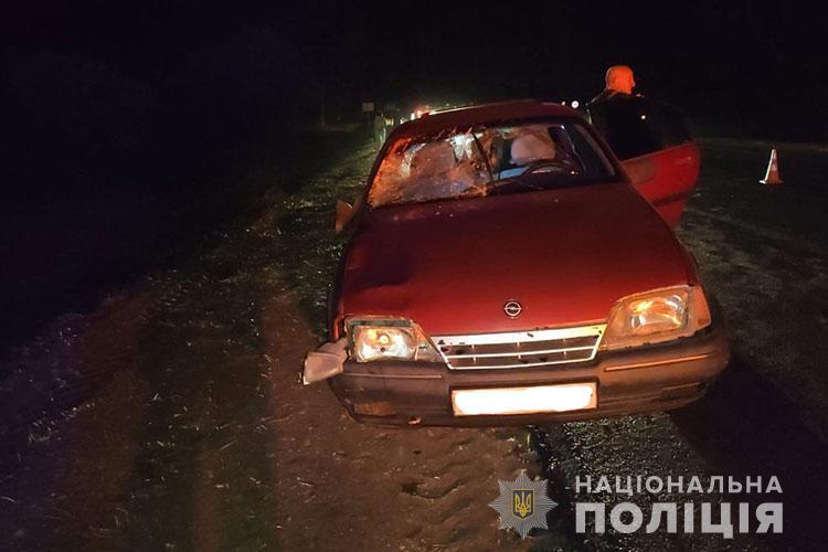 """Смертельна аварія на Тернопільщині: водій на """"Опелі"""" збив трьох людей (ФОТО)"""