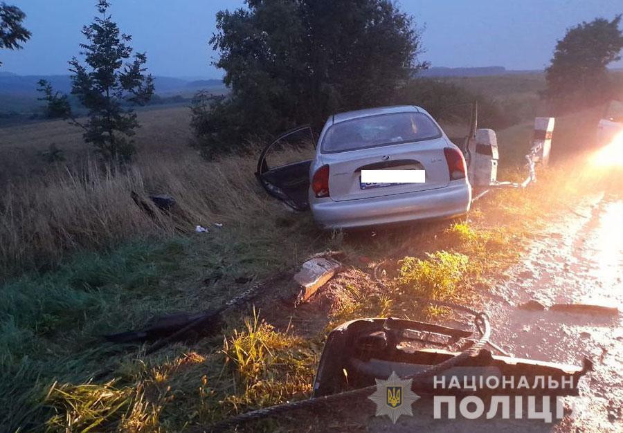У аварії постраждала 14-річна тернополянка (ФОТО)
