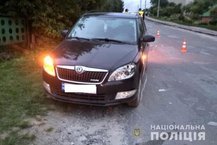 У Кременці 21-річний водій збив дитину (ФОТО)