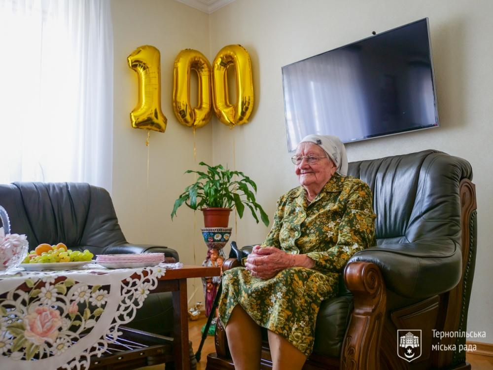 Пережила усі війни: тернополянка Ольга Бойко відзначила столітній ювілей (ФОТО)