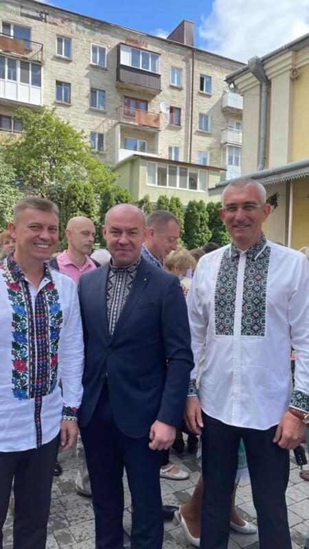 Іван Чайківський та Володимир Болєщук привітали тернополян із Днем міста