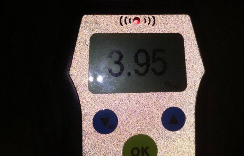 3,95 проміле – поблизу Бучача дуже п'яний водій скоїв ДТП