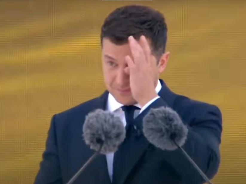 Зеленський заплакав: Президент України розчулився під час параду до Дня Незалежності (ФОТО, ВІДЕО)