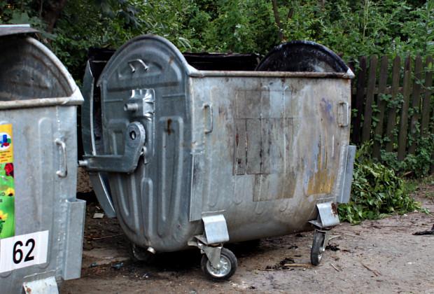 У Борщеві молодий чоловік викрав сміттєвий контейнер і не зміг пояснити навіщо