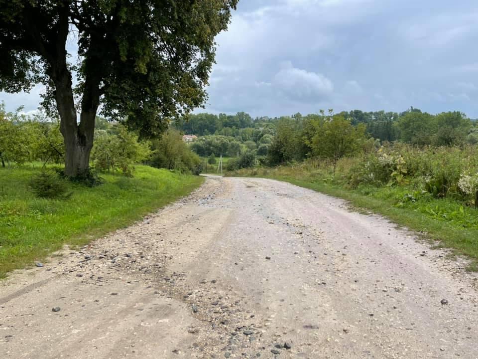 Крайнє село Зборівської громади матиме нову дорогу (ФОТО)