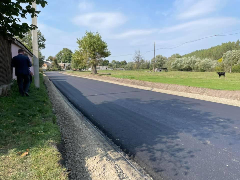 Європейська дорога: на Тернопільщині відремонтували ще одну ділянку (ВІДЕО)