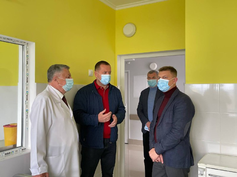 У Тернопільській обласній дитячій лікарні триває ремонт одного з відділень (ВІДЕО)