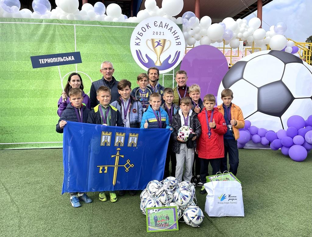 Справжнє футбольне свято: юні тернополяни змагались за Кубок єднання у Луцьку (ФОТО)