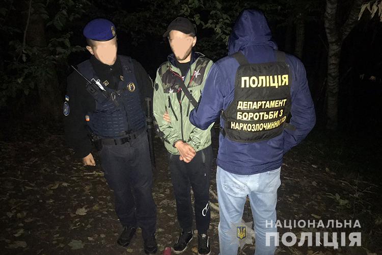 Наркотиків на 70 тисяч: у Тернополі виявили розповсюджувачів амфетаміна і PVP