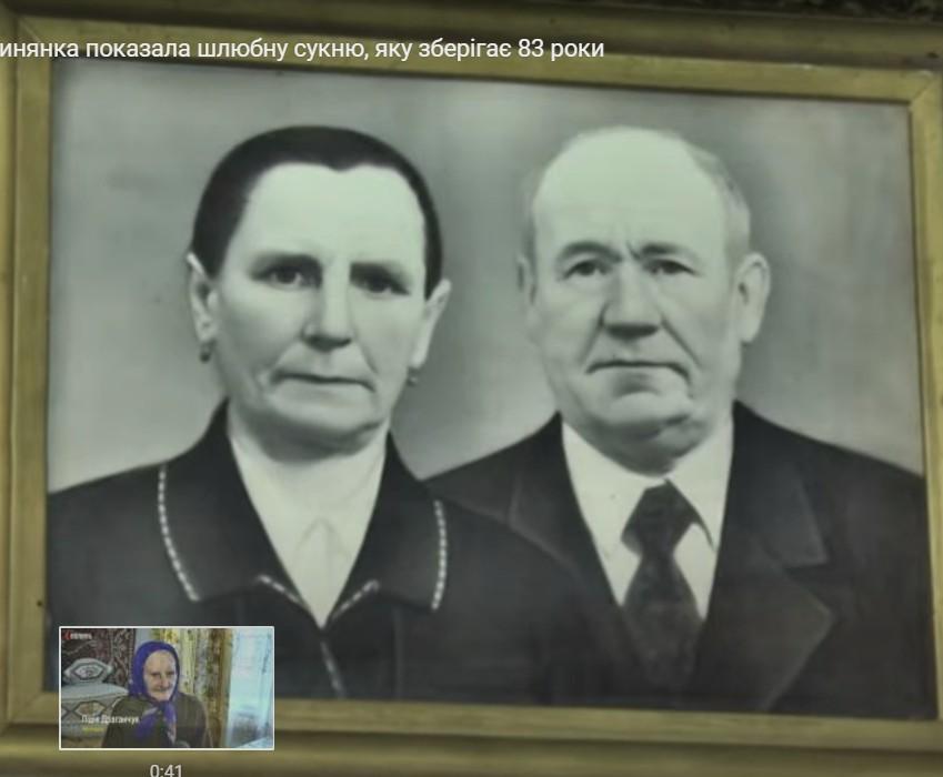 100-річна українка показала весільну сукню, яку зберігала 83 роки, і вразила мережу (ФОТО, ВІДЕО)