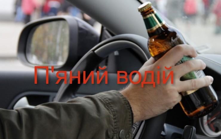 На Борщівщині п'яний водій скоїв аварію і отримав за це 17000 гривень штрафу