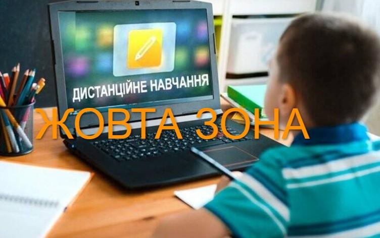"""Тернопільщина переходить у """"жовту зону"""", а багато шкіл – на дистанційне навчання"""