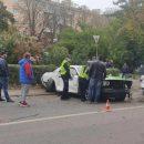 У Тернополі нетверезий водій розбив американськиий автомобіль Dodge (ФОТО, ВІДЕО)