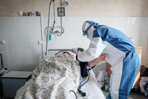 У лікарнях Тернополя – 93 хворих на COVID-19, серед них 11 дітей