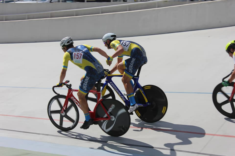 Тернополянин Віталій Гринів виступив на чемпіонаті Європи з велотреку