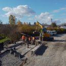 На Бережанщині ремонтують аварійний міст (ВІДЕО)