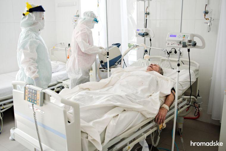 За першу декаду жовтня від коронавірусу на Тернопіллі померли 78 людей, 3690 — захворіли